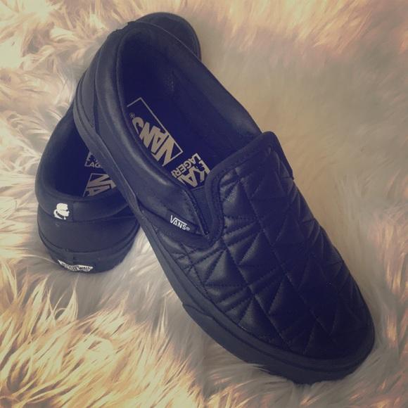 2cebee9eea VANS X KARL LAGERFELD CLASSIC SLIP. M 5b60afd9f303696f7df558d7. Other Shoes  ...